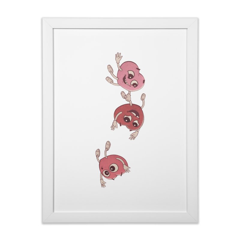 Falling in Love Home Framed Fine Art Print by BRETT WISEMAN