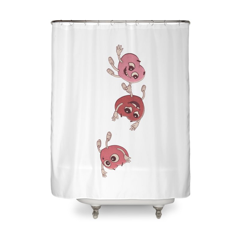 Falling in Love Home Shower Curtain by BRETT WISEMAN