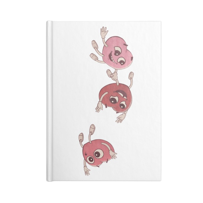 Falling in Love Accessories Notebook by BRETT WISEMAN