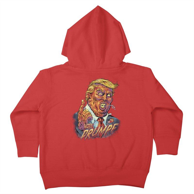 Zombie Trump Kids Toddler Zip-Up Hoody by brian allen's Artist Shop