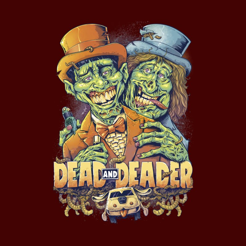 Dead and Deader Women's T-Shirt by brian allen's Artist Shop