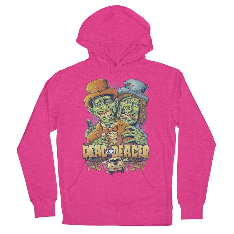 Dead and Deader Women's Pullover Hoody by brian allen's Artist Shop