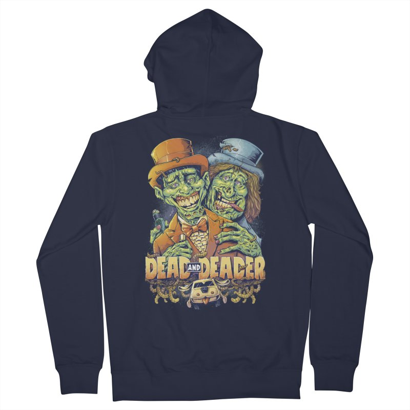 Dead and Deader Women's Zip-Up Hoody by brian allen's Artist Shop