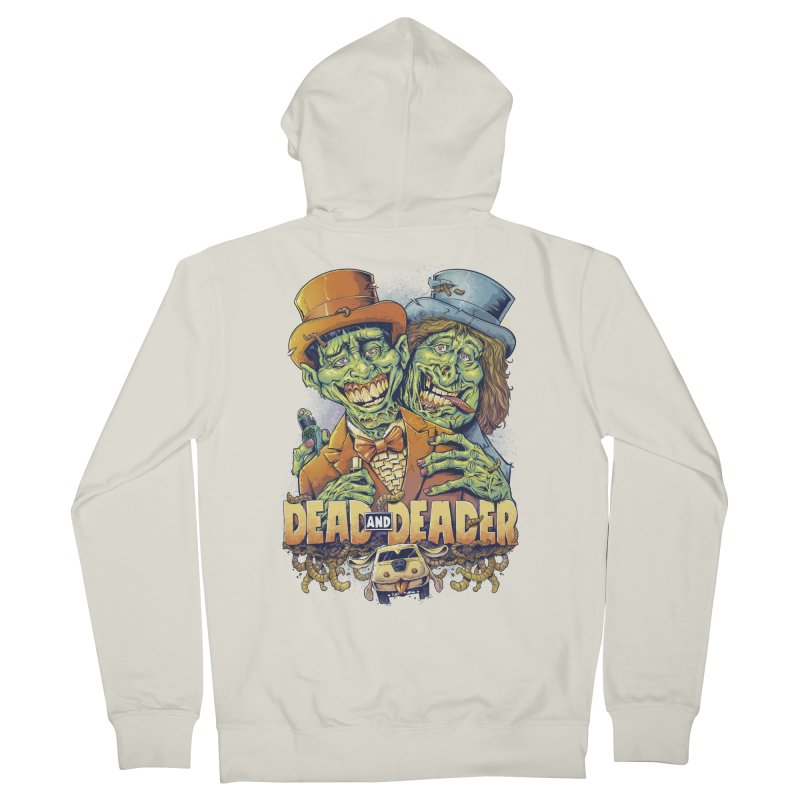 Dead and Deader Men's Zip-Up Hoody by brian allen's Artist Shop