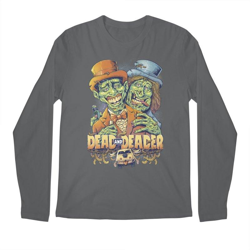 Dead and Deader Men's Longsleeve T-Shirt by brian allen's Artist Shop