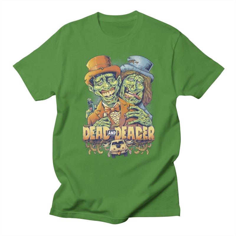 Dead and Deader Men's T-Shirt by brian allen's Artist Shop
