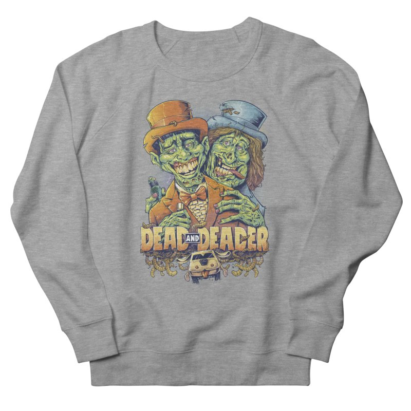 Dead and Deader Men's Sweatshirt by brian allen's Artist Shop