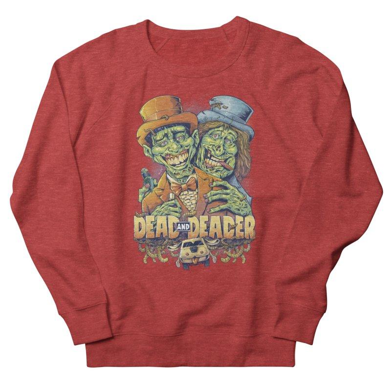 Dead and Deader Men's Sweatshirt by brian allen's Artist Shop