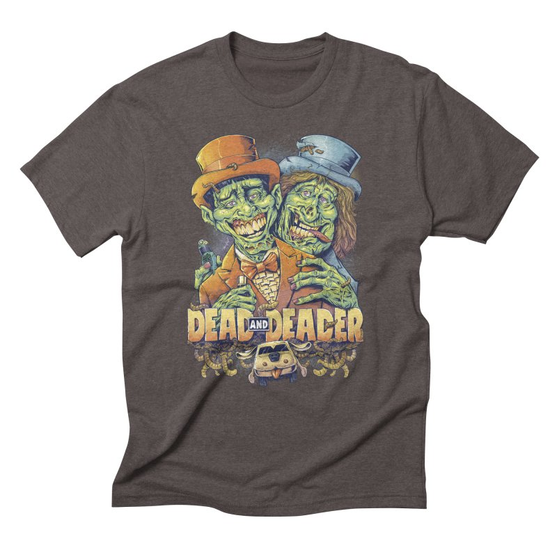 Dead and Deader Men's Triblend T-shirt by brian allen's Artist Shop