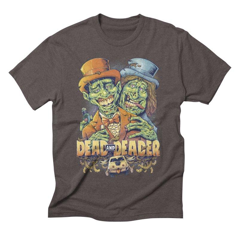 Dead and Deader Men's Triblend T-shirt by brian allen's Artist Shop