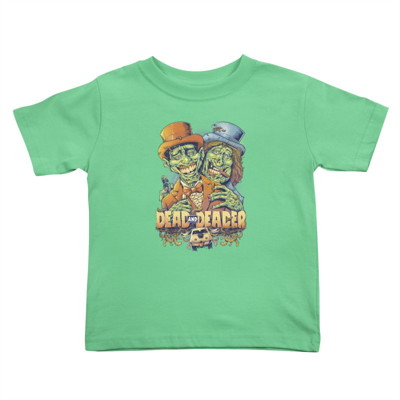 Dead and Deader Kids Toddler T-Shirt by brian allen's Artist Shop