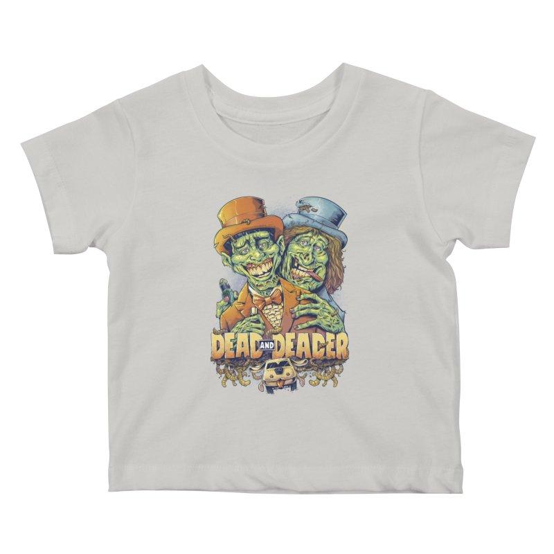 Dead and Deader Kids Baby T-Shirt by brian allen's Artist Shop