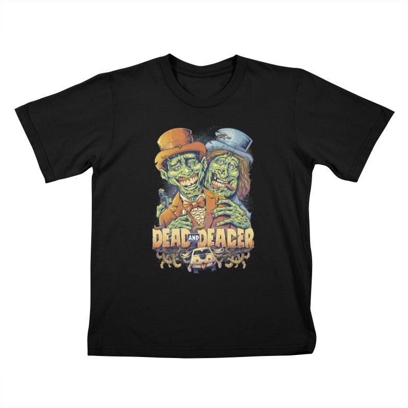 Dead and Deader Kids T-shirt by brian allen's Artist Shop