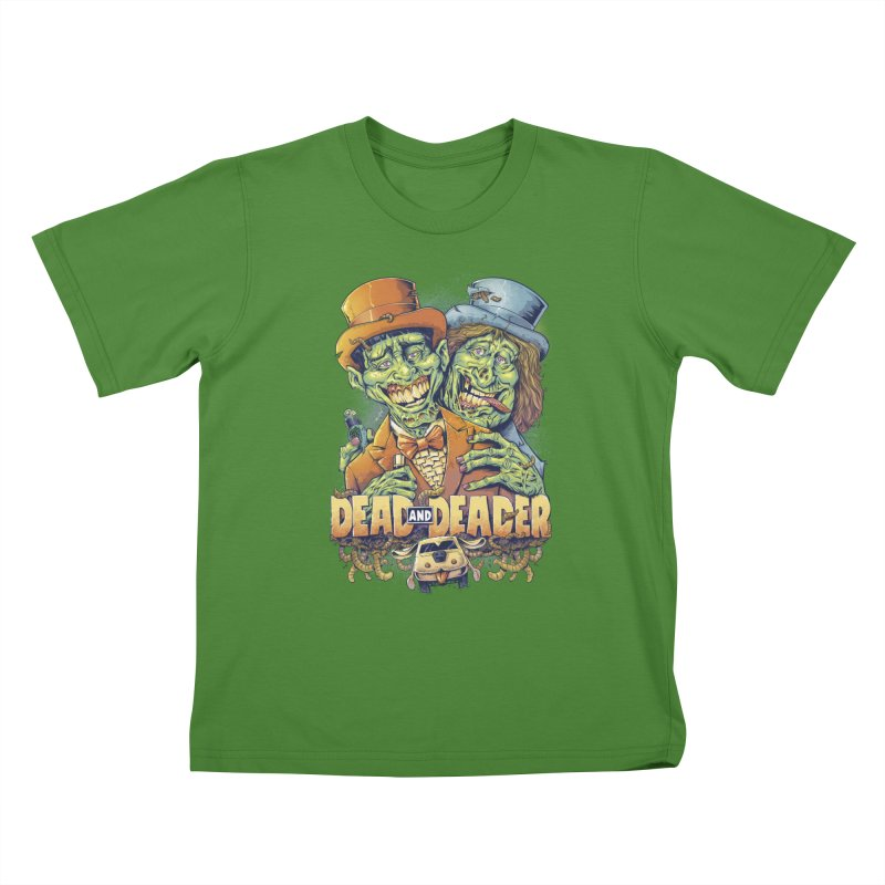 Dead and Deader Kids T-Shirt by brian allen's Artist Shop