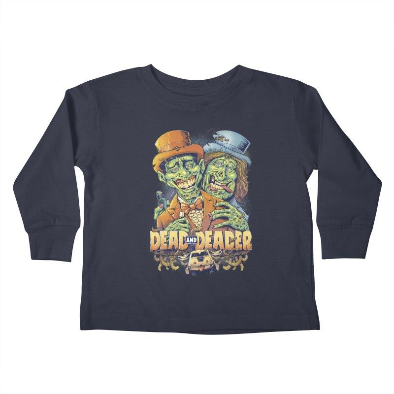 Dead and Deader Kids Toddler Longsleeve T-Shirt by brian allen's Artist Shop