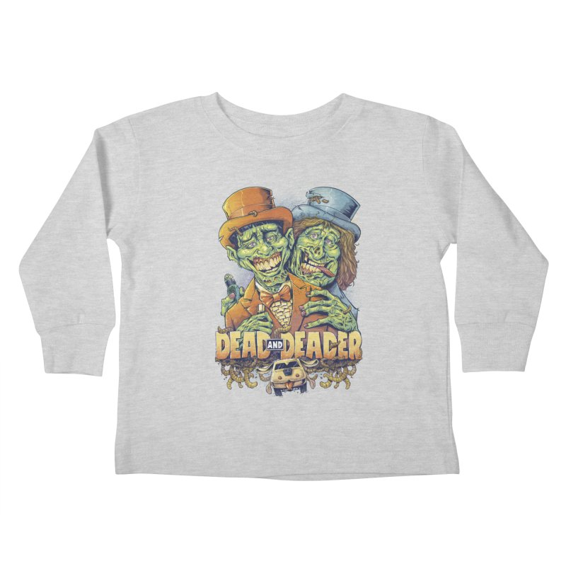 Dead and Deader Kids Toddler Longsleeve T-Shirt by brian allen's Artist Shop