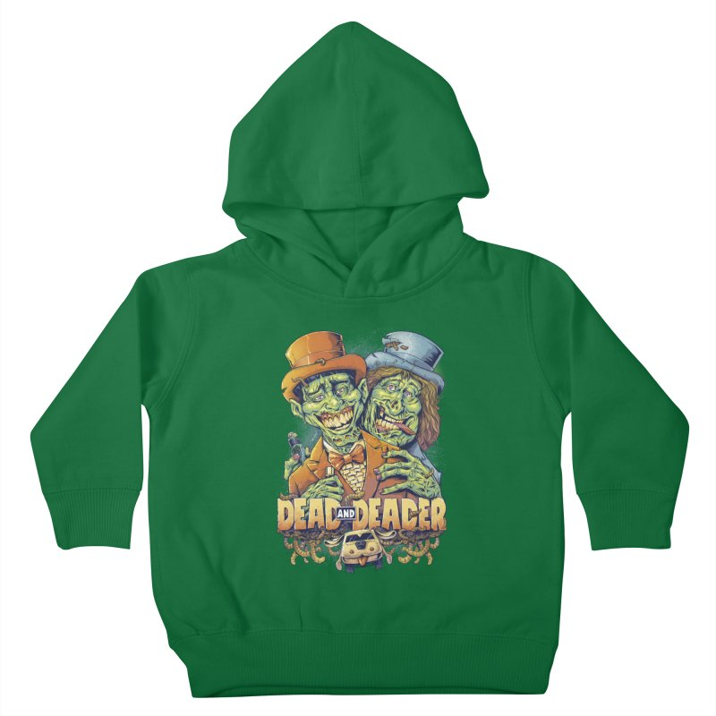 Dead and Deader Kids Toddler Pullover Hoody by brian allen's Artist Shop