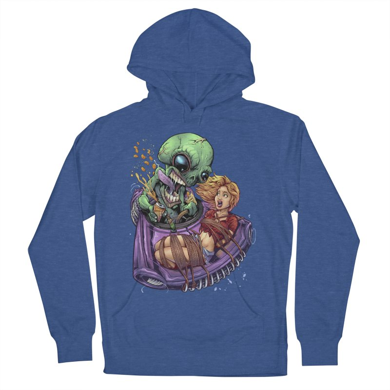 Alien Take out Women's Pullover Hoody by brian allen's Artist Shop