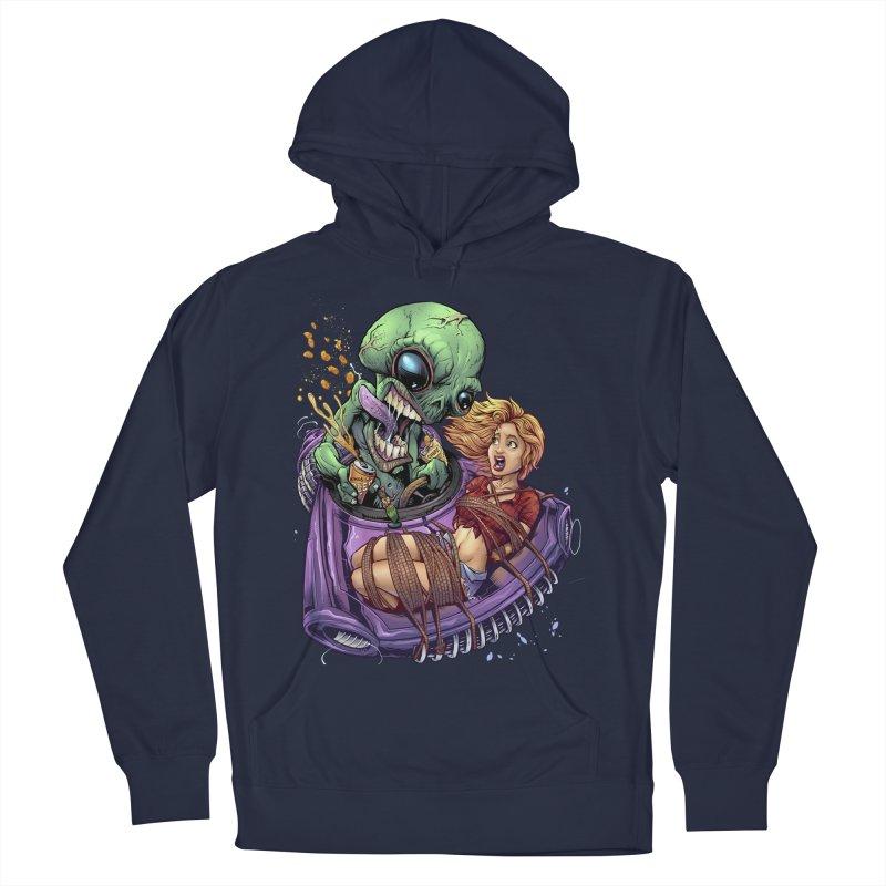 Alien Take out Women's Pullover Hoody by brian allen's Artist Shop