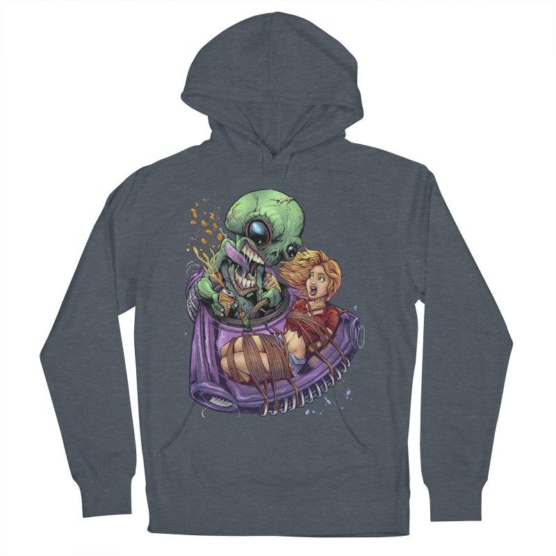 Alien Take out Men's Pullover Hoody by brian allen's Artist Shop