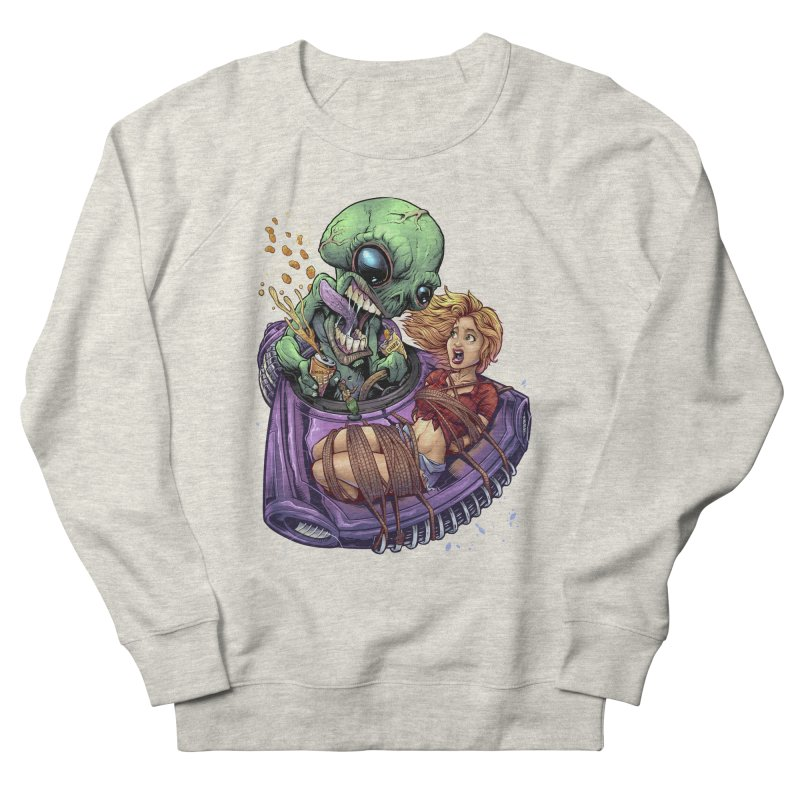 Alien Take out Women's Sweatshirt by brian allen's Artist Shop