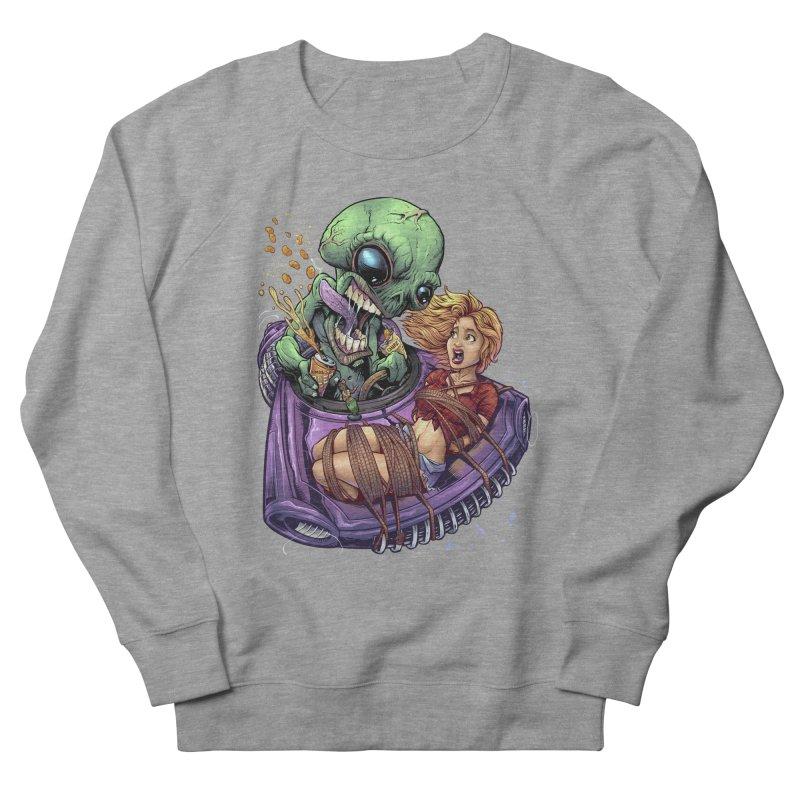 Alien Take out Men's Sweatshirt by brian allen's Artist Shop