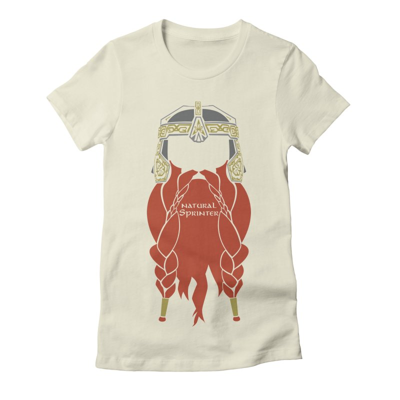 Natural Sprinter Women's Fitted T-Shirt by brianamccarthy's Artist Shop