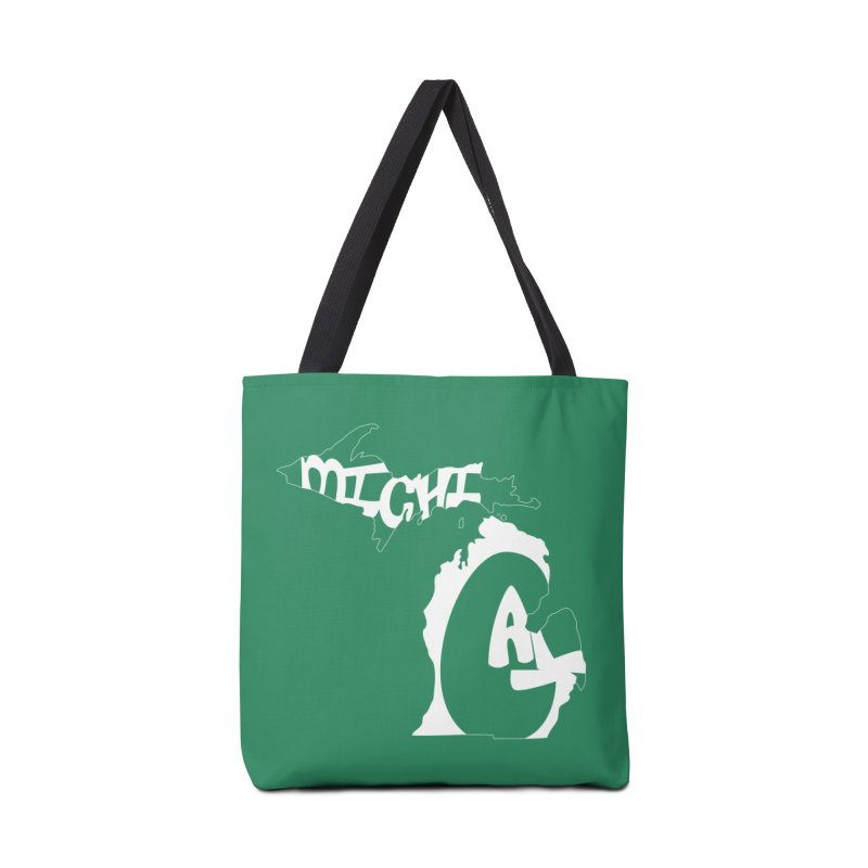 Michigal Accessories Bag by brianamccarthy's Artist Shop