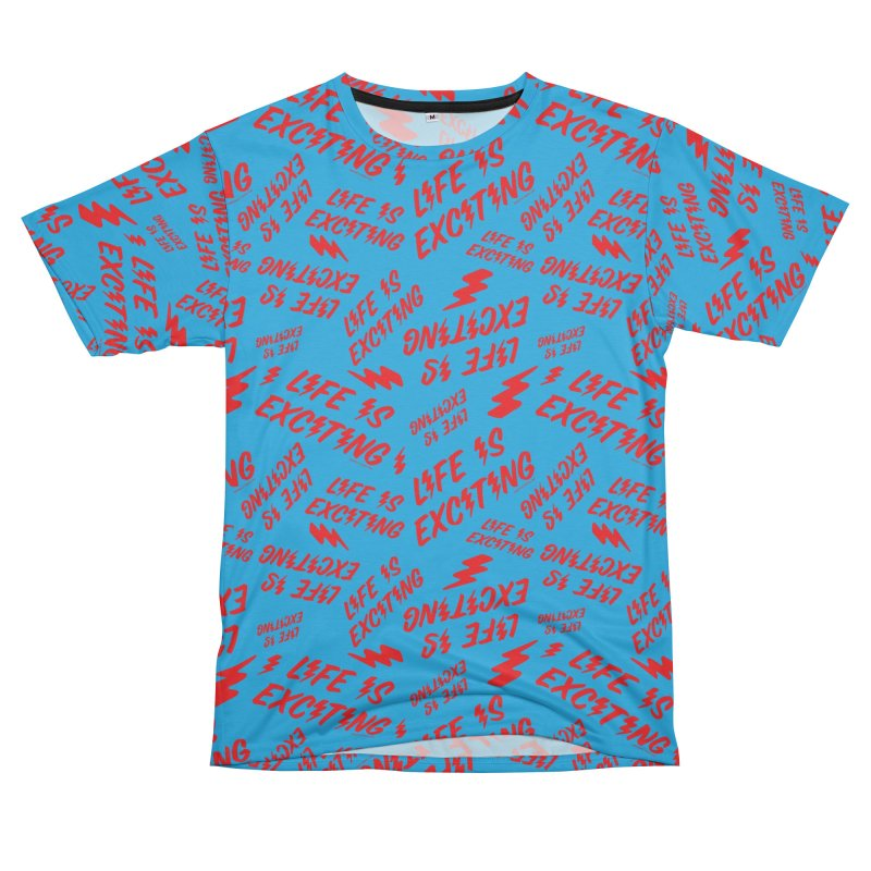 Life Is Exciting (Classic) [All Over Print] Men's Cut & Sew by Smokey's Tangle
