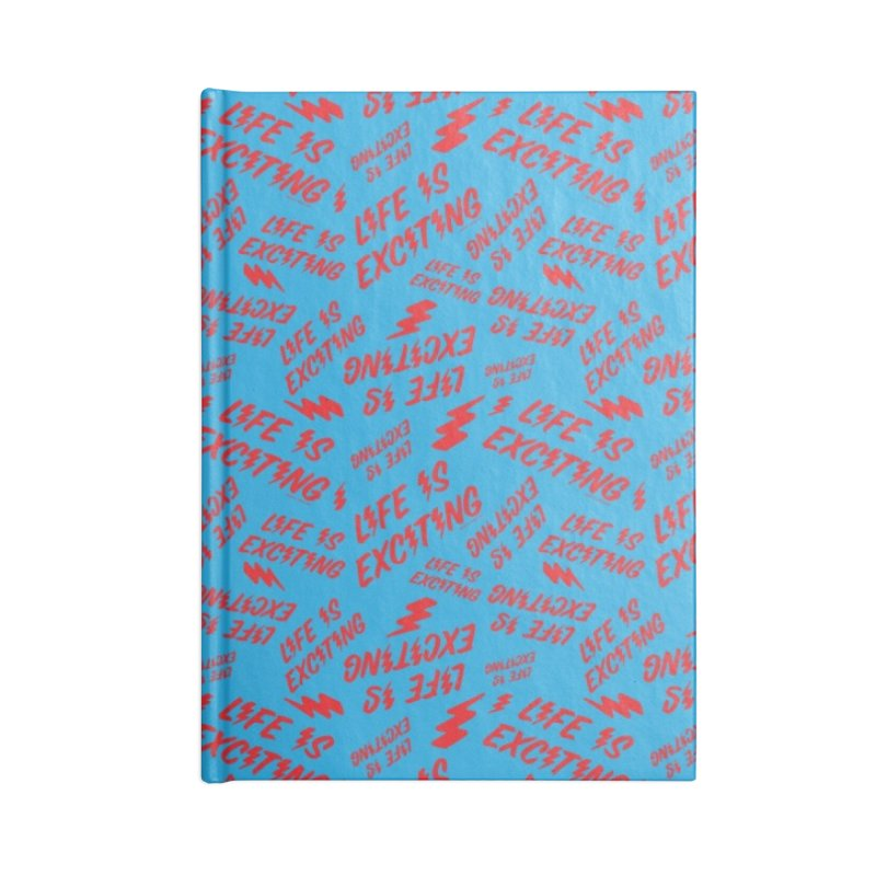 Life Is Exciting (Classic) [All Over Print] Accessories Notebook by Smokey's Tangle