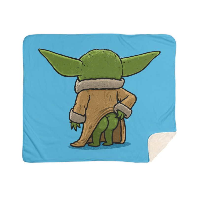 Backside of the Force Home Blanket by Brian Cook