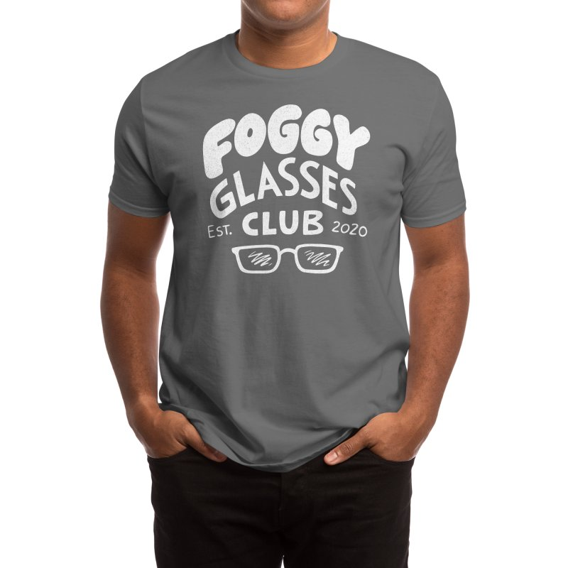 Foggy Glasses Club Men's T-Shirt by Brian Cook