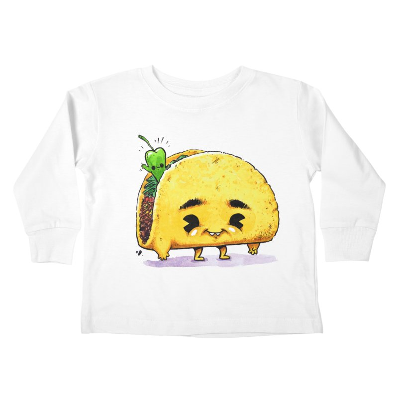 Hello-peno Kids Toddler Longsleeve T-Shirt by Brian Cook