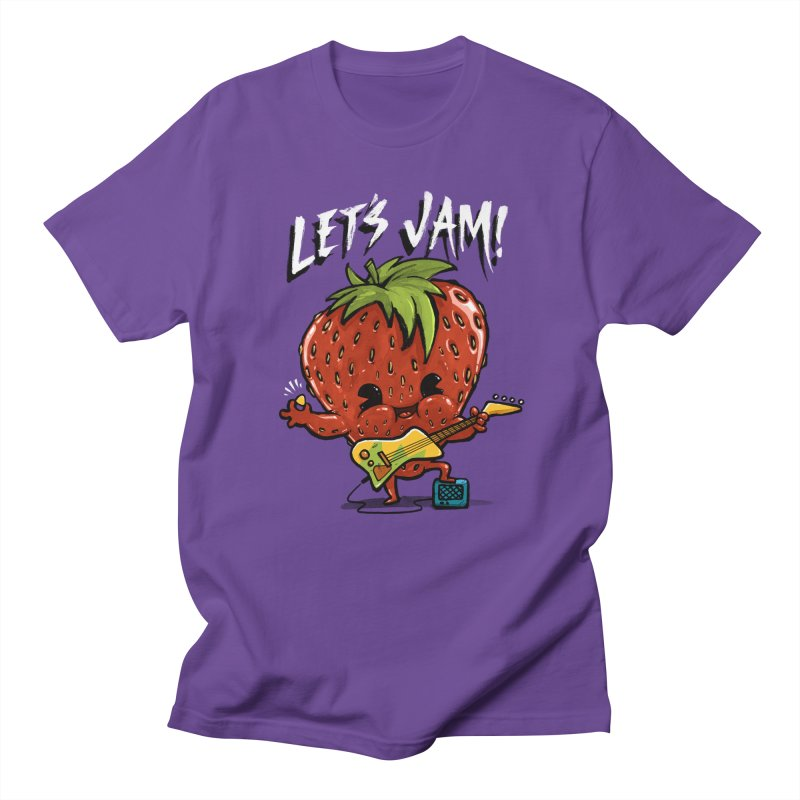 Jamming Men's T-shirt by Brian Cook