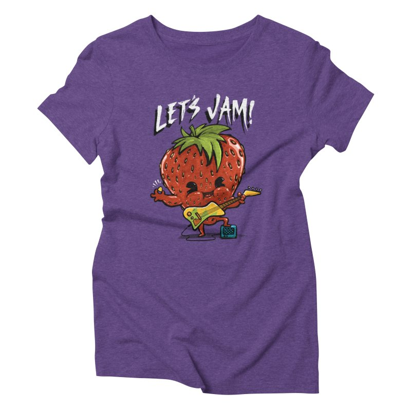 Jamming Women's Triblend T-shirt by Brian Cook
