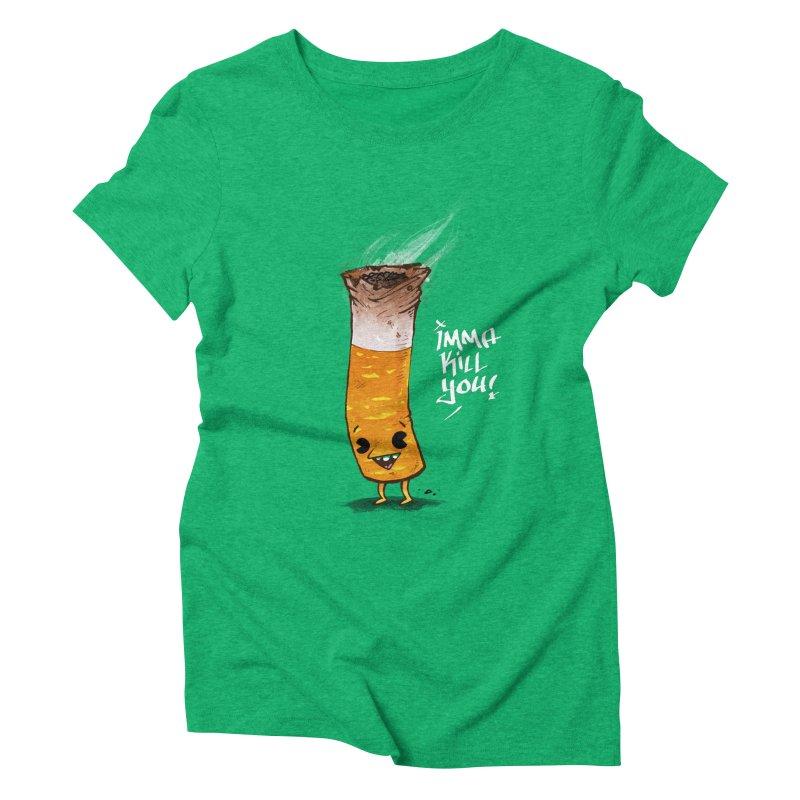 Smoke Em Women's Triblend T-shirt by Brian Cook