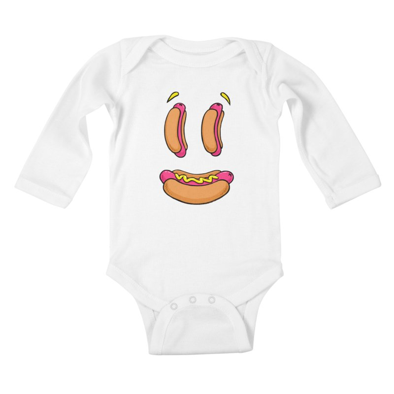 Grillin and Chillin Kids Baby Longsleeve Bodysuit by Brian Cook