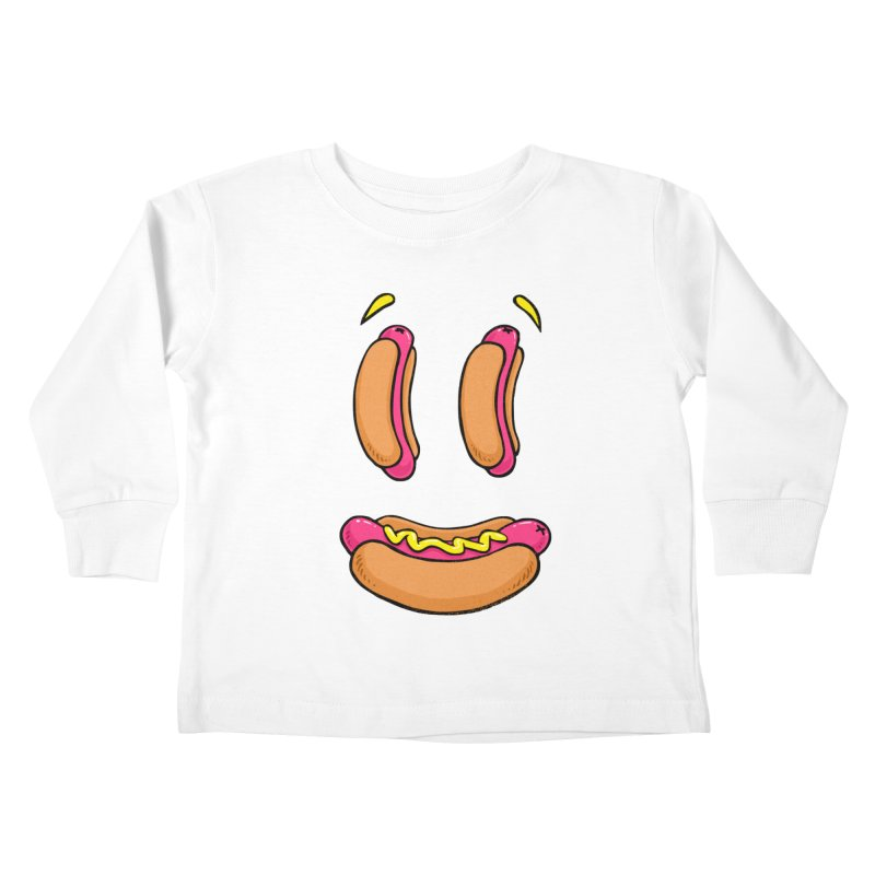 Grillin and Chillin Kids Toddler Longsleeve T-Shirt by Brian Cook