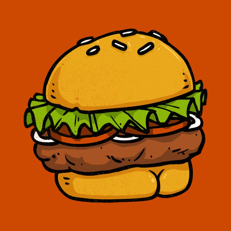 Burger BUTT None  by Brian Cook