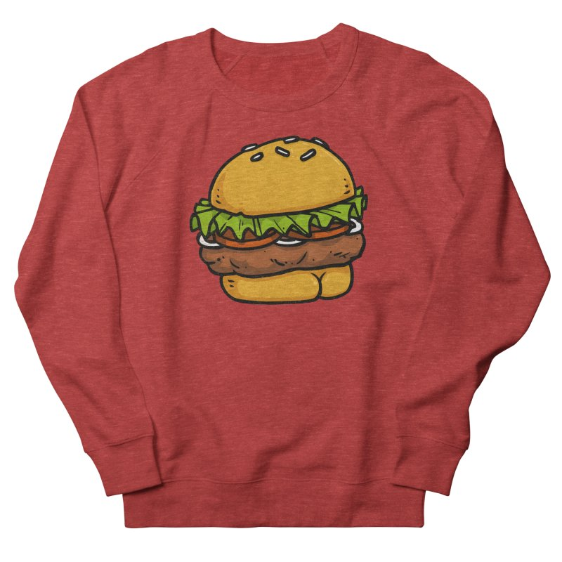 Burger BUTT Men's Sweatshirt by Brian Cook