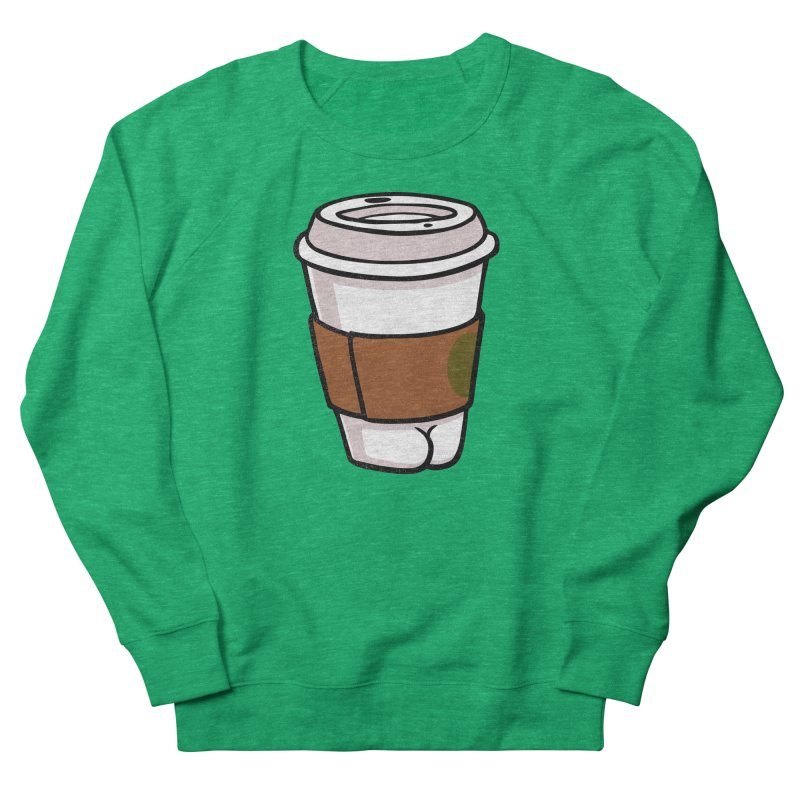 Coffee BUTT Men's Sweatshirt by Brian Cook