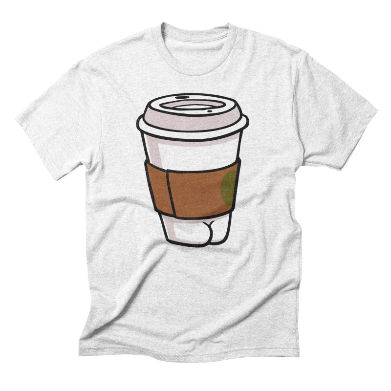 Coffee BUTT Men's Triblend T-shirt by Brian Cook