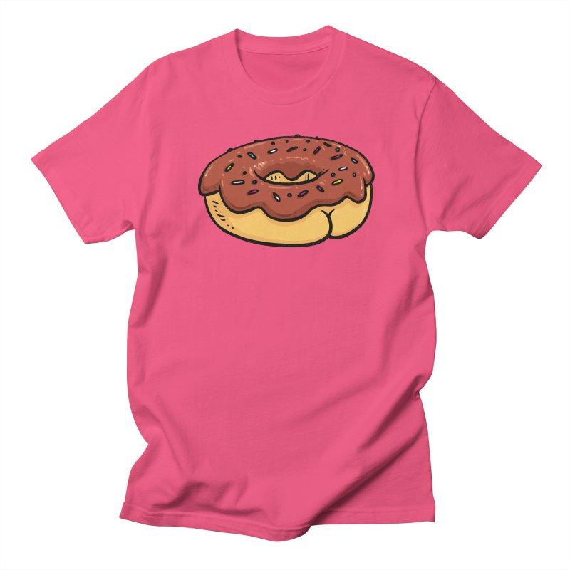 Donut BUTT Men's T-shirt by Brian Cook