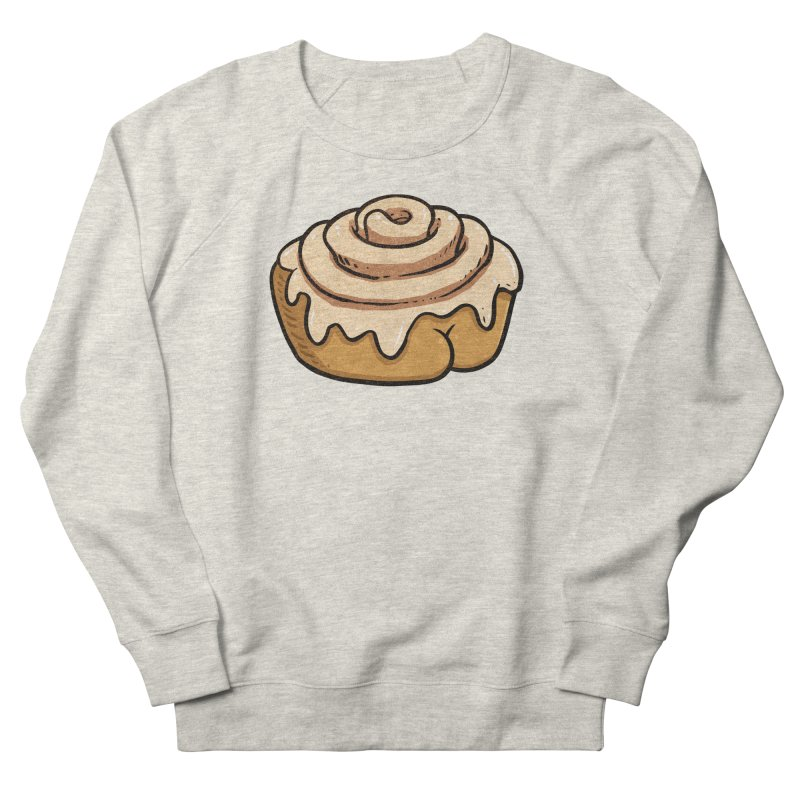 Cinnamon Roll BUTT Men's Sweatshirt by Brian Cook