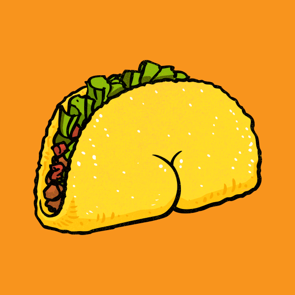 Design for Butt on Taco