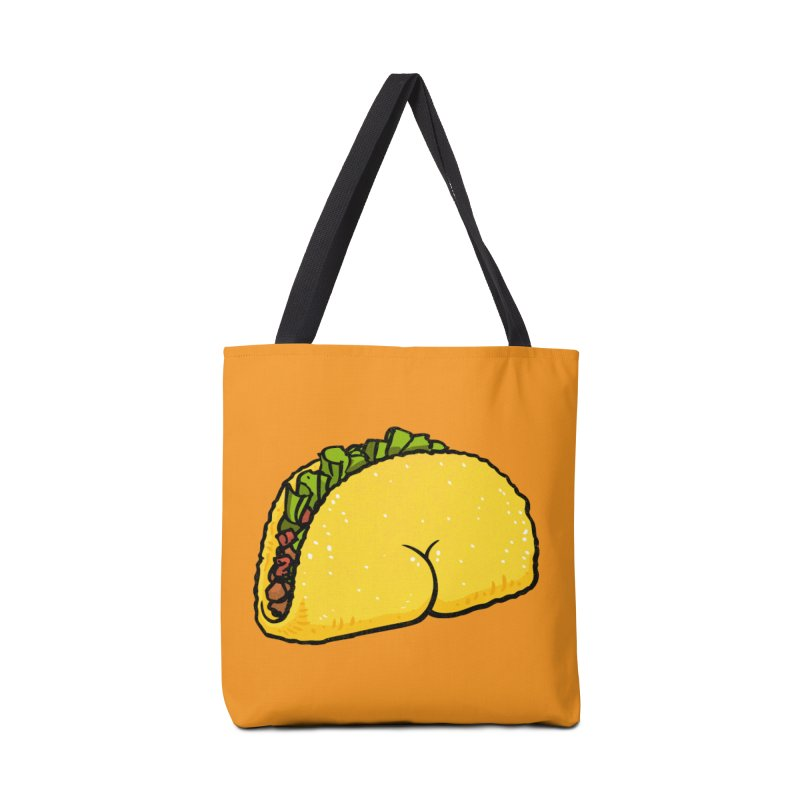 Butt on Taco Accessories Bag by Brian Cook
