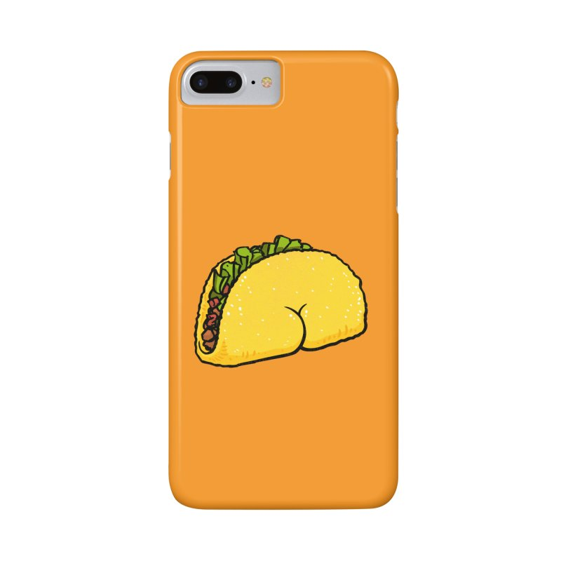 Butt on Taco Accessories Phone Case by Brian Cook