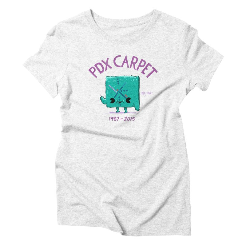 PDX Carpet Women's Triblend T-shirt by Brian Cook