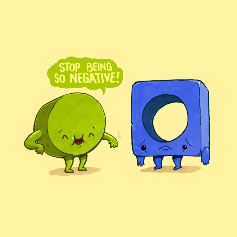 Being Negative by Brian Cook