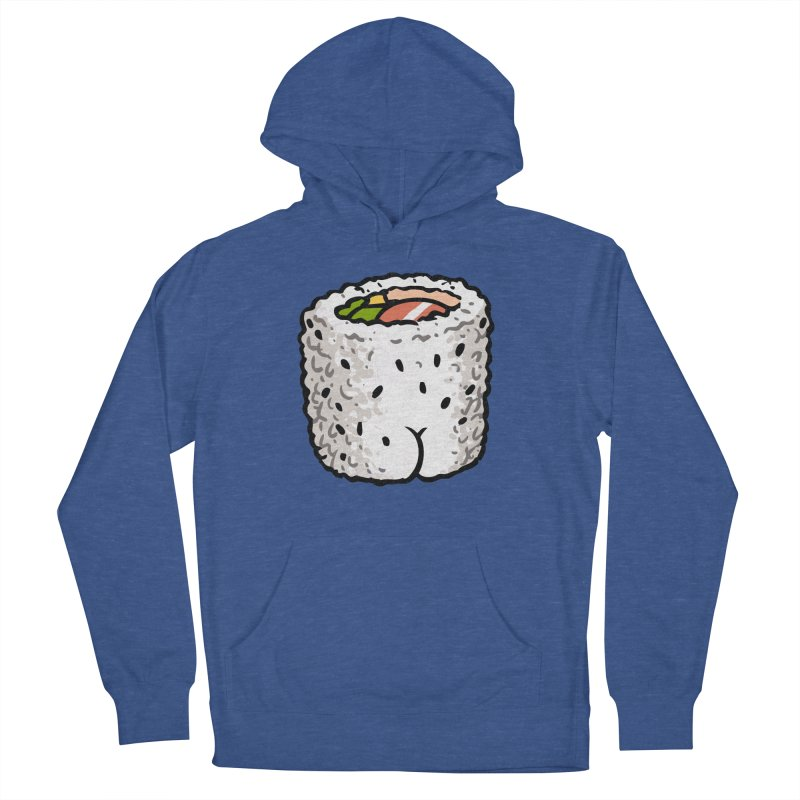 Sushi BUTT Men's Pullover Hoody by Brian Cook